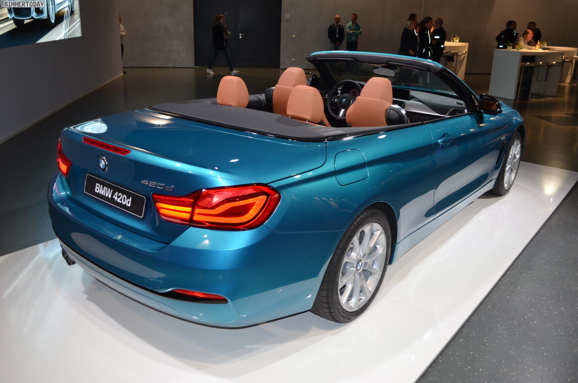 BMW 4 Series Cabriolet รุ่นปรับโฉมกระตุ้นตลาด (LCI ...
