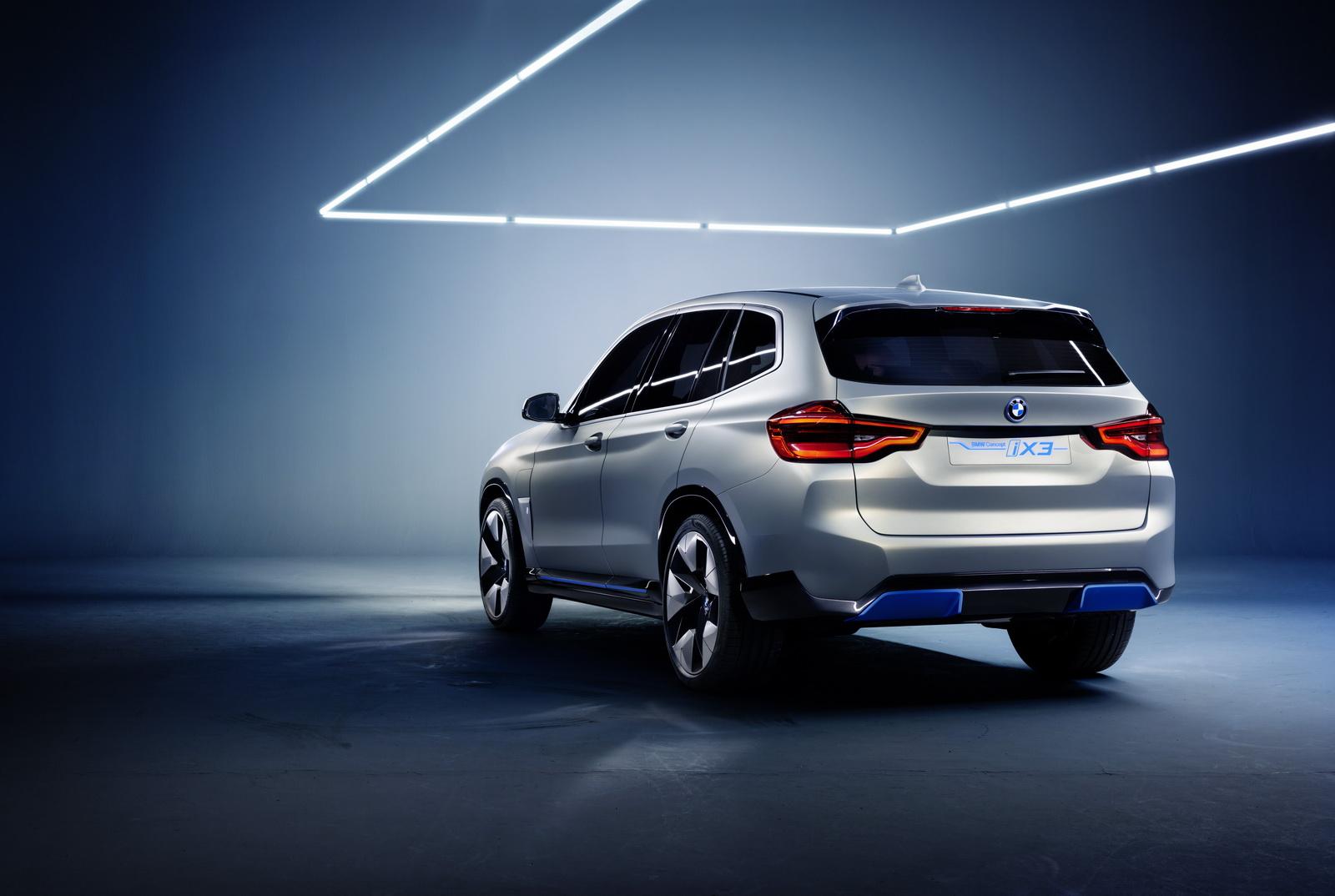เผยโฉม BMW Concept iX3 พลังงานไฟฟ้า 100% ก่อนขายจริงปี ...